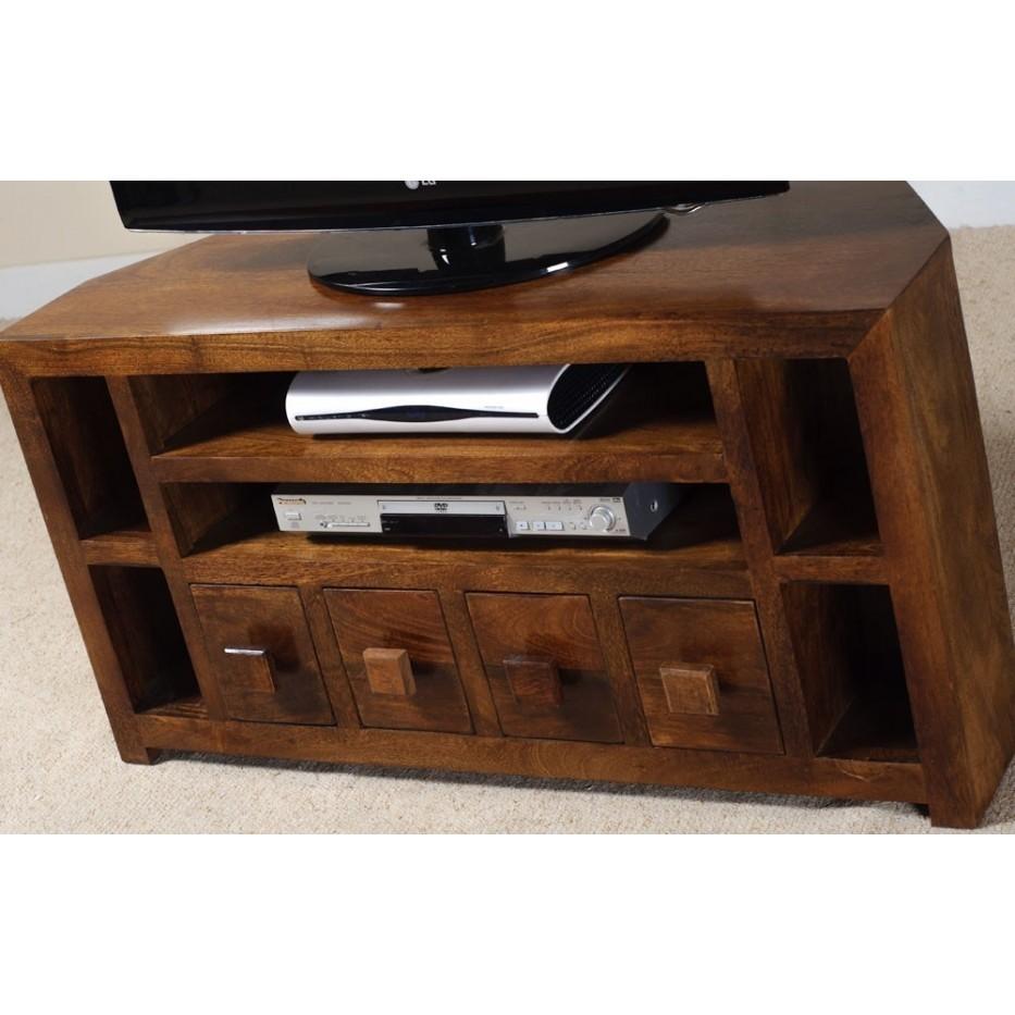 Mobile porta tv etnico legno ad angolo Etnic Outlet Arredamento ...