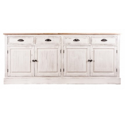 Buffet credenza bianco shabby chic