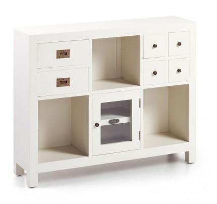 Consolle legno bianco