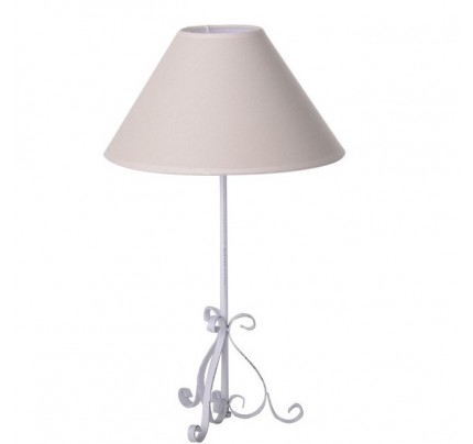 Lampada tavolo bianco antico