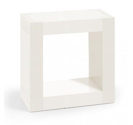Mensola coloniale legno bianca