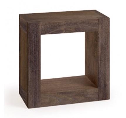 Mensola cubo industrial living