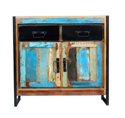Buffet 2 ante vintage industrial multicolor