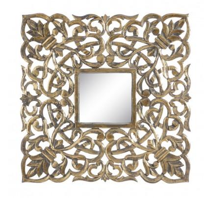 Murale quadrato con specchio