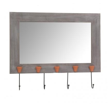 Specchio provenzale con ganci