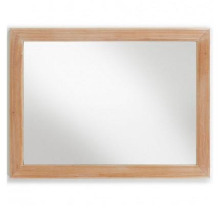 Specchio retrò chic naturale
