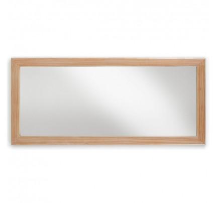 Specchio rettangolare retrò chic naturale