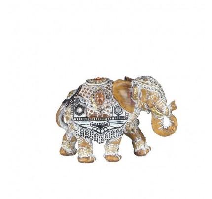 Statua elefante decorata
