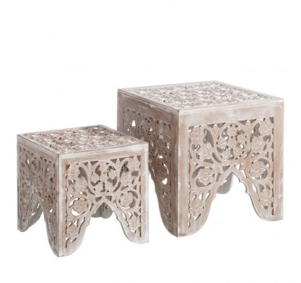 Tavolini orientali decapati