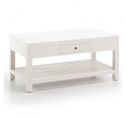 Tavolino legno bianco