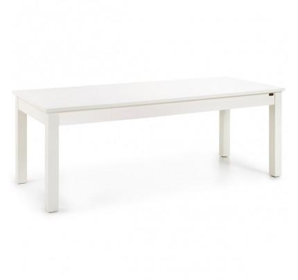 Tavolo coloniale bianco allungabile