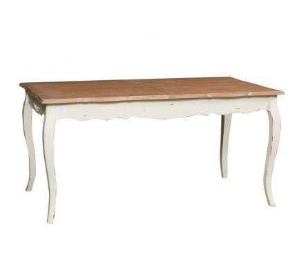 Tavolo provenzale bianco decapato