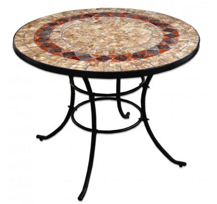 Tavoli in ferro battuto prezzi best tavolo da giardino con mosaico in ferro battuto cm xx with - Tavolo giardino mosaico prezzi ...