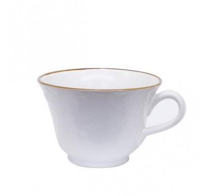 Set 6 tazze colazione bianche