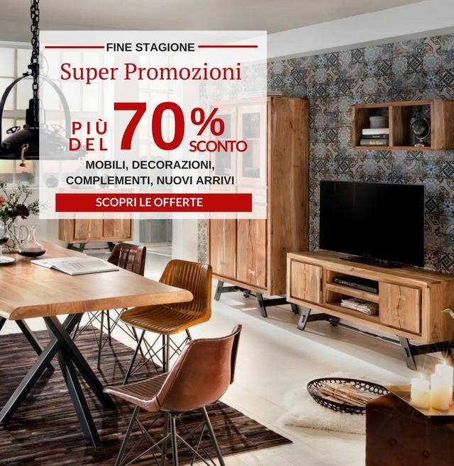 Arredamento Outlet Etnico.Mobili Etnici Industrial E Vintage Vendita Online Con