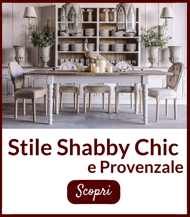 stile shabby chic e provenzale etnic outlet