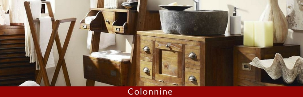 colonnine bagno etniche provenzali industrial vintage