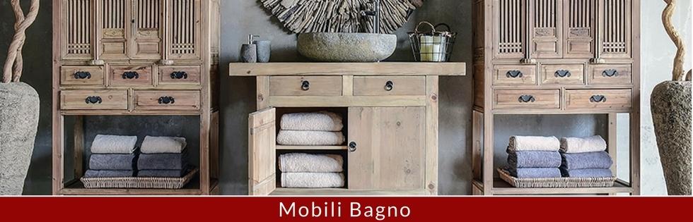 Mobili Bagno Vintage Etnici Industrial | Etnicoutlet mobili Etnic ...
