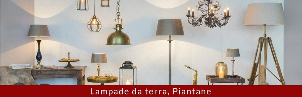 lampade da terra piantane
