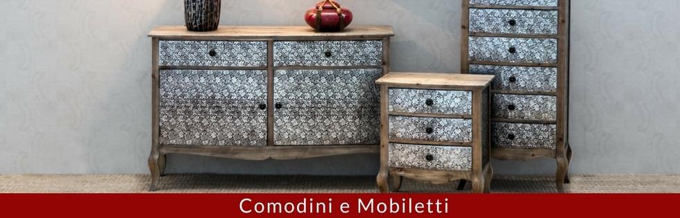 Comodini e Mobiletti Vendita Online