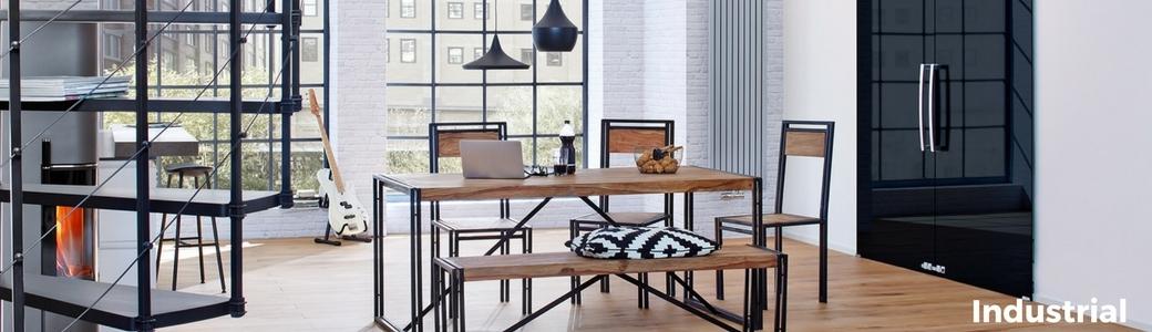 mobili stile industrial